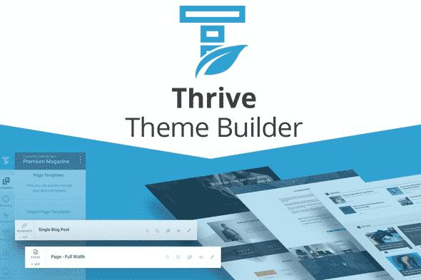 Thrive Themes Builder Best WordPress Theme Builder 2020